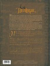 Verso de Le décalogue -7a2011- Les conjurés