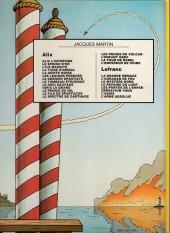 Verso de Lefranc -5a1983- Les portes de l'enfer