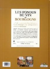 Verso de Les fondus du vin -1- Bourgogne