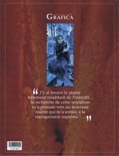 Verso de Le prince de la Nuit -5- Élise