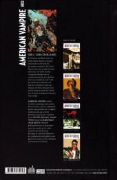 Verso de American Vampire -4- Course contre la mort