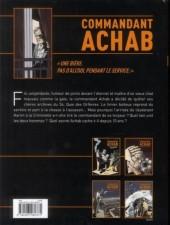 Verso de Commandant Achab -1a- Né pour mourir