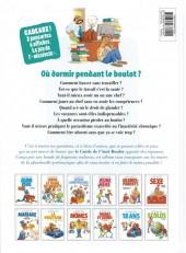 Verso de Le guide -15b13- Le guide de l'anti-boulot