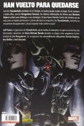 Verso de 100% Marvel: Vengadores Oscuros -1- Los más poderosos de la Tierra