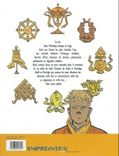 Verso de Le bouddha d'Azur -1a- Tome 1/2
