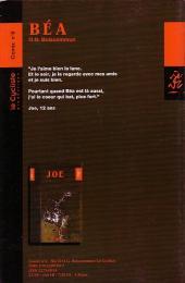 Verso de Joe -26- Béa