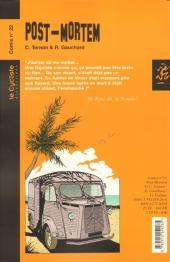 Verso de Post-mortem (Gauchard/Ternon) -22- Post-mortem