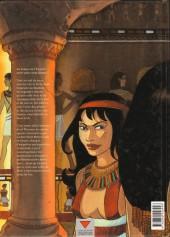 Verso de Sur les terres d'Horus -2- Meresankh ou le choix de Seth