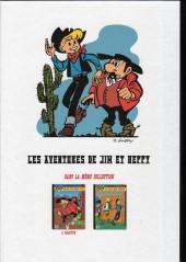 Verso de Jim L'astucieux (Les aventures de) - Jim Aydumien -1a- La ville sans chevaux