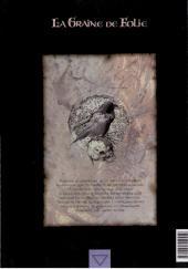 Verso de La graine de folie -HS- Le grand livre des recherches
