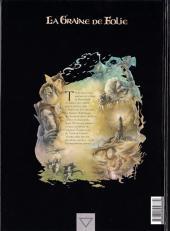 Verso de La graine de folie -4- Le roy sans cœur