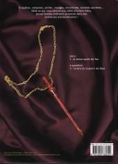 Verso de Ariane Dabo -1- La lance opale de feu