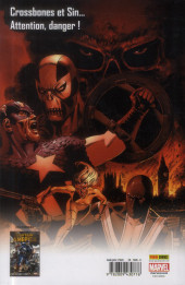 Verso de Captain America (Marvel Deluxe) -3- L'hiver meurtrier