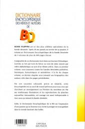 Verso de (DOC) Encyclopédies diverses -31- Dictionnaire encyclopédique des héros et auteurs de BD