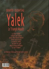 Verso de Yalek -8TL- le triangle maudit