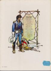Verso de Blueberry -5b1981- La Piste des Navajos