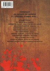 Verso de Manga of the dead - Zombie Tonkam Anthology