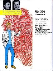 Verso de Ric Hochet -10a1973- Les 5 revenants