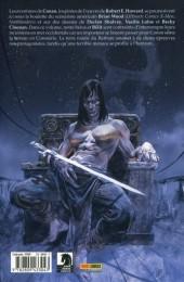 Verso de Conan le barbare (100% Fusion) -2- Fureur sur la frontière