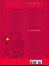 Verso de Spirou et Fantasio - La collection (Cobra) -34- Les faiseurs de silence