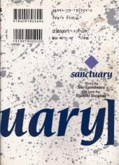 Verso de Sanctuary (en japonais) - volume 9