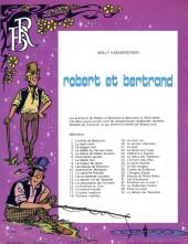 Verso de Robert et Bertrand -35- Le démon de Paracelse