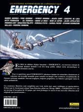 Verso de Emergency - Les Histoires authentiques de l'aéronautique -4- N°4