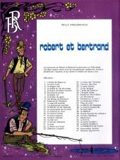 Verso de Robert et Bertrand -46- Redoutables momies