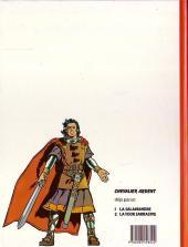 Verso de Chevalier Ardent (Rijperman et autres) -1ES- La Tour Sarrasine