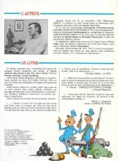 Verso de La petite histoire des armes à feu -INT- L'encyclo-B.D. des armes