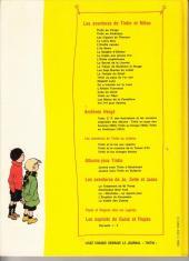 Verso de Quick et Flupke -3- (Casterman, couleurs) -REC2- Recueil 2