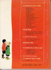 Verso de Quick et Flupke -3- (Casterman, couleurs) -REC3 75- Recueil 3