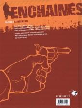 Verso de Enchaînés -8- Jugements