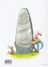 Verso de Astérix -35- Astérix chez les Pictes