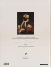 Verso de Bonneval Pacha -3- Le turc