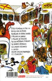 Verso de Cabu (voyages au bout du crayon) - Cabu en Inde