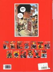 Verso de Les pompiers -13- Feu de tout bois