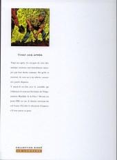 Verso de Histoire sans héros -2b- Vingt ans après