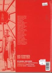 Verso de Le chant des Stryges -4a02- Expériences