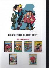 Verso de Jim L'astucieux (Les aventures de) - Jim Aydumien -6- L'or de shater-town
