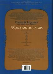 Verso de Contes & Légendes des régions de France -3- Nord-Pas-de-Calais