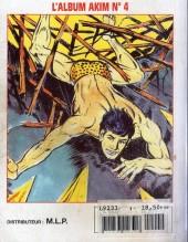 Verso de Capt'ain Swing! (2e série - Mon Journal) -Rec04- Album N°4 (du n°10 au n°12)