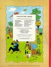 Verso de Tintin (Historique) -10B30- L'étoile mystérieuse