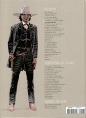 Verso de Blueberry - La collection (Hachette) -706- Le Cheval de fer