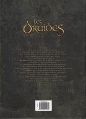 Verso de Les druides -INT1- Intégrale tomes 1 à 6