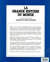Verso de (AUT) Funcken -HM4- La grande histoire du monde