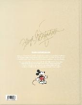Verso de Mickey Mouse (L'âge d'or de) -8- Le mystère de l'Atombrella et autres histoires (1948-1950)