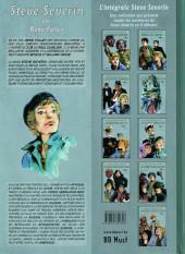 Verso de Steve Severin (Les aventures de) -8- Le cercle de justice