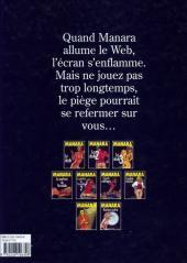 Verso de Le piège (Manara) - Le piège