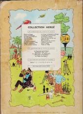 Verso de Tintin (Historique) -2B31- Tintin au congo